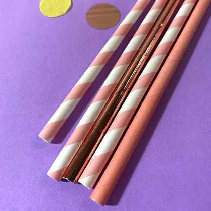 Canudo de Papel | Embalagem com 20 un.