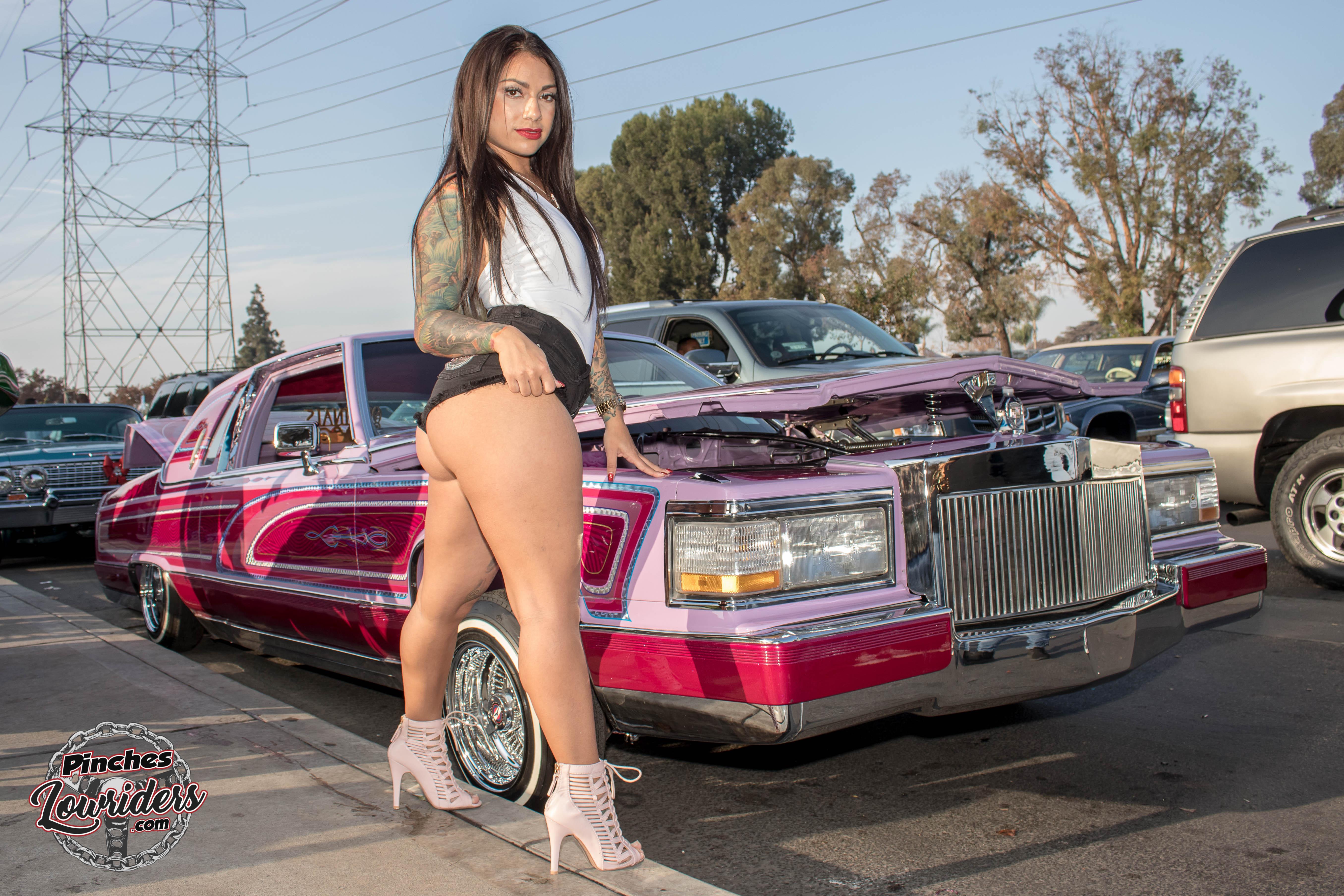 Lowrider car show girls nude