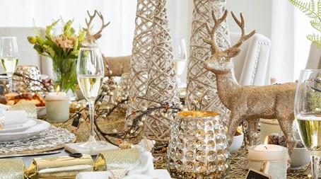 Comment créer un paysage de table festif qui brille
