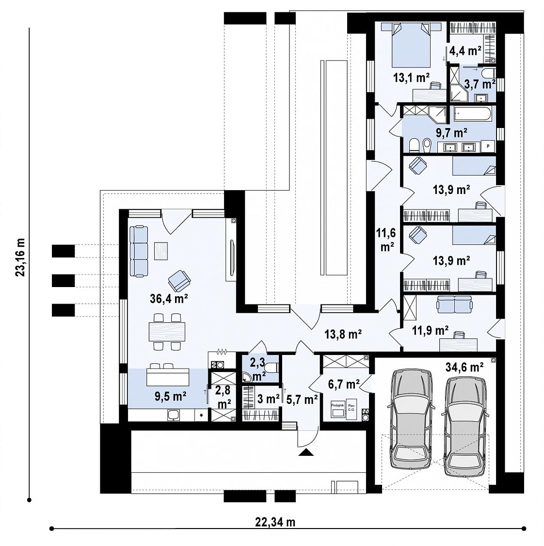 maison unique Nala 156m2-2