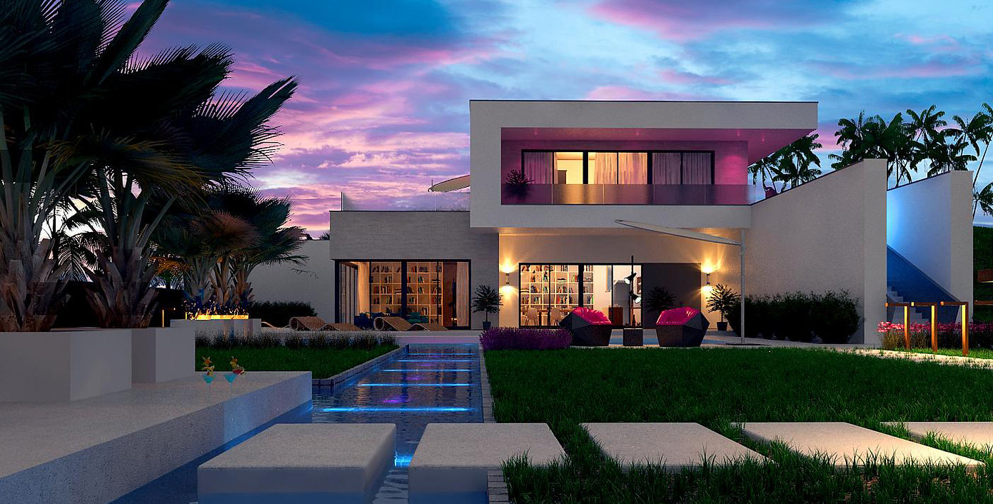 Constructeur de maison moderne