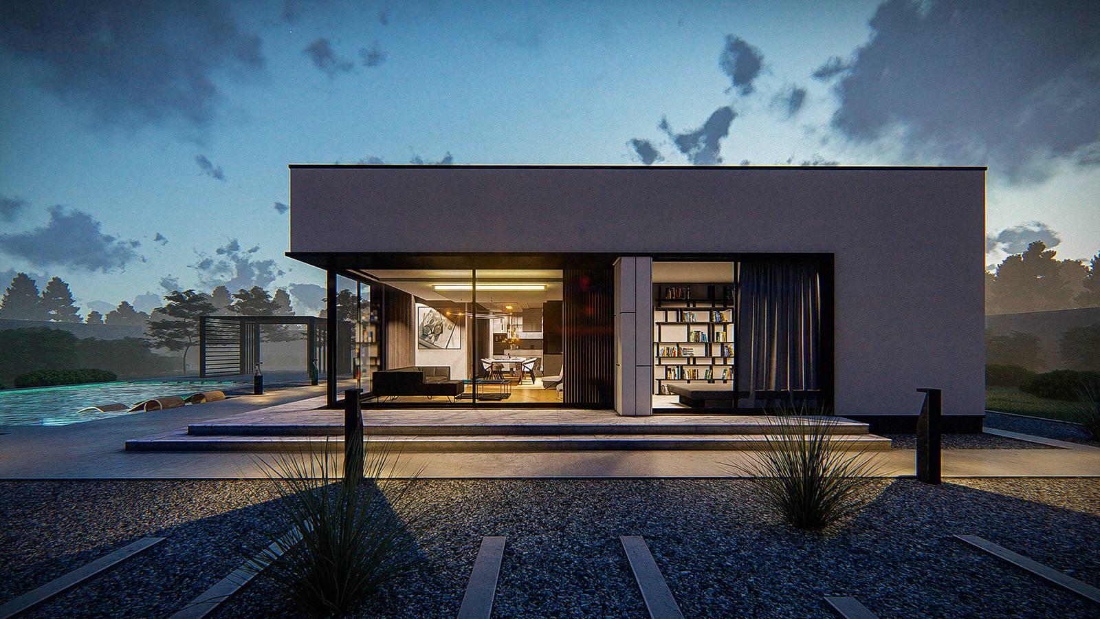 Maison toit plat Ava RT2020-7