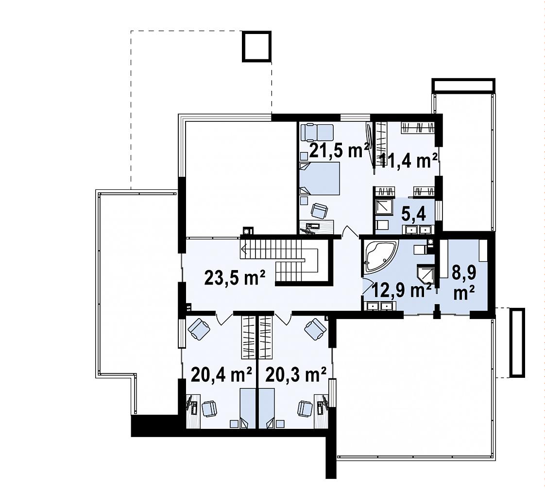 Maison unique Emmy 263m2-6