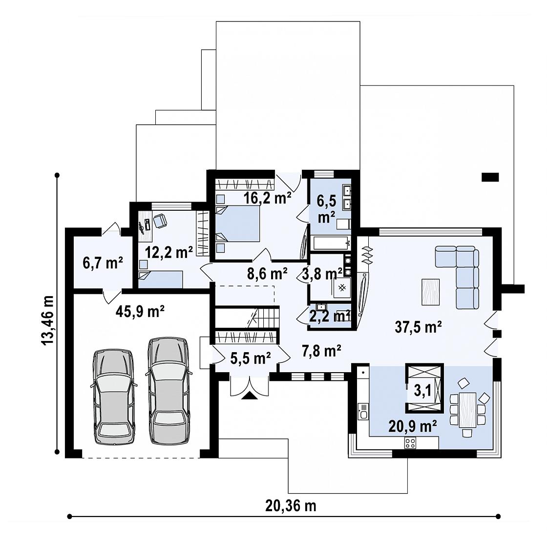 Maison unique Alexia 222m2-11