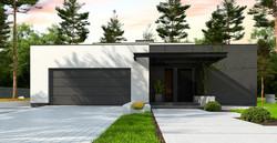Maison ossature bois contemporaine moderne LEILA -3