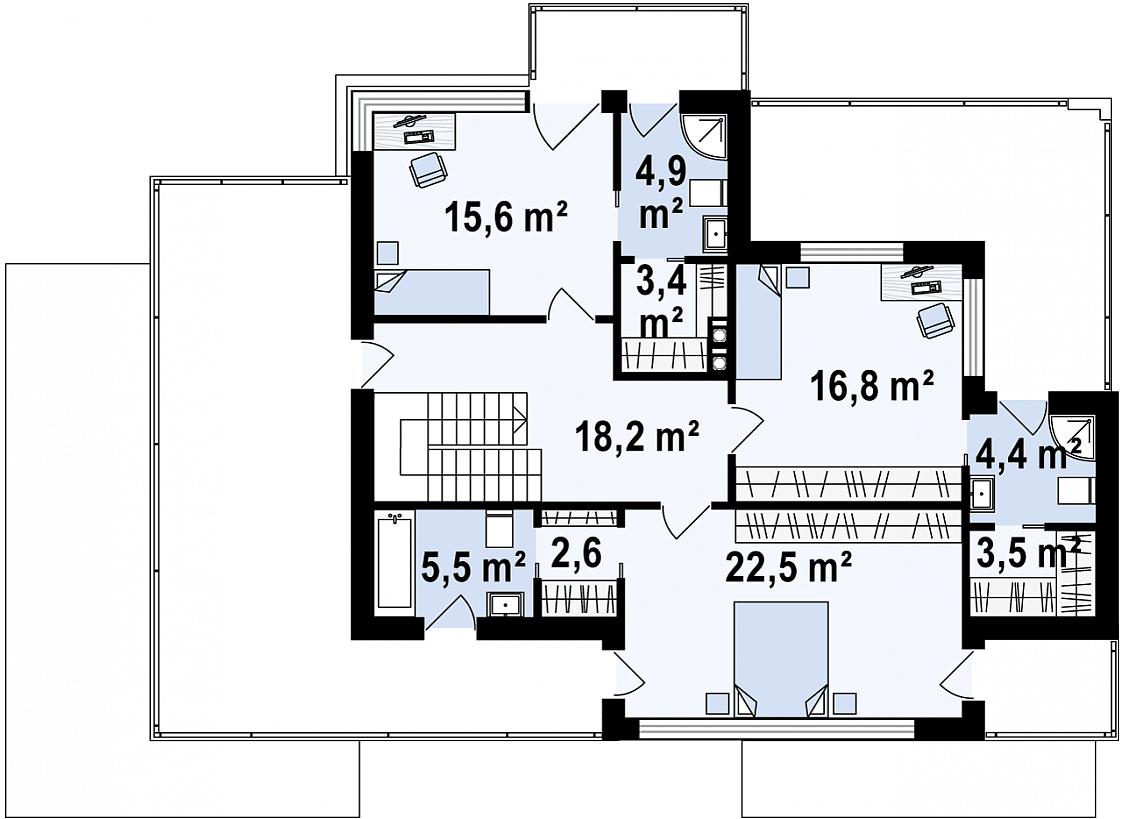 Maison unique Alexia 222m2-12