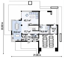 Maison unique Emmy 263m2-5