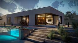 Maison toit plat Ava RT2020-1