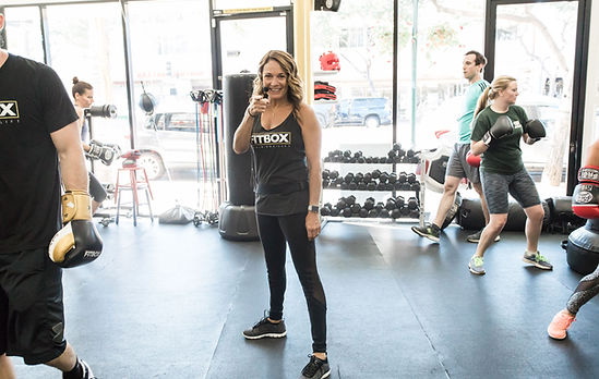 Fun, high energy, boxing classes at Fitbox Workout in Sherman Oaks, CA