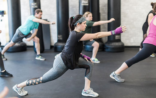 FitStretch boxing stretching and recovery class at Fitbox Workout in Sherman Oaks, CA