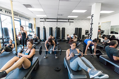 Fitlift 5x5 weight training class in Sherman Oaks, CA