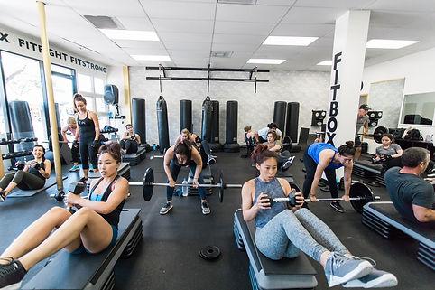 Fitlift 5x5 weight training class in Sherman Oaks, CA