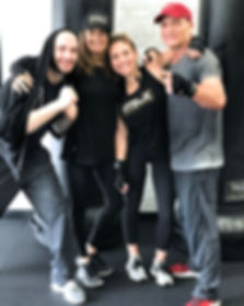 The Marshall Family, creators of Fitbox Workout in Sherman Oak, CA