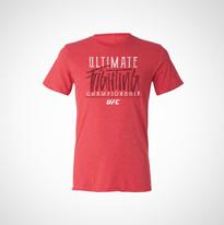 UFC Red Triblend T-Shirt