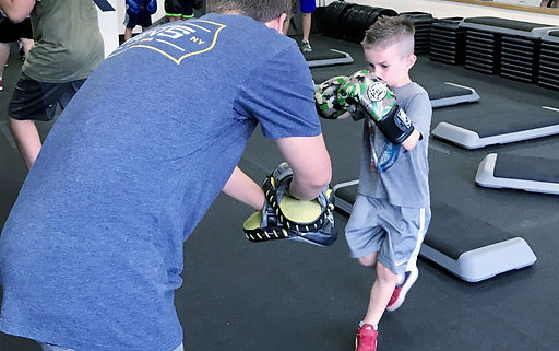 Fitkids kids boxing class at Fitbox Workout in Sherman Oaks, CA