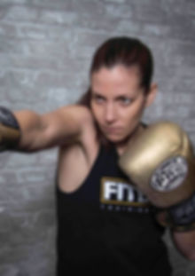 Jordana Gruzen, Boxing and Group Boxing Fitness Trainer at Fitbox Workout in Sherman Oak, CA
