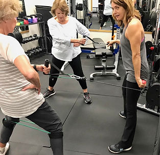Private training with boxing, mitts, weights, and strength training at Fitbox Workout in Sherman Oaks CA