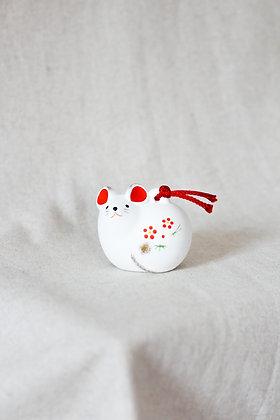 Clochette - Rat en céramique