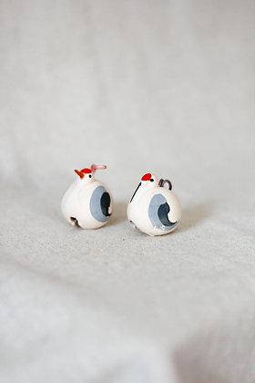 Clochettes en céramique - Nabe Tsuru