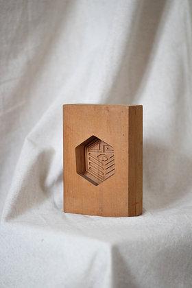 Kashigata - sceau hexagonal