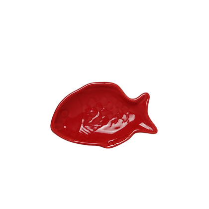 Petite assiette poisson rouge