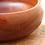 Thumbnail: Grand bol laqué en bois Kashibachi