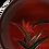 Thumbnail: Assiettes en bois laqué (par 2)