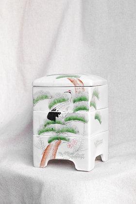 Boîte en porcelaine Jubako