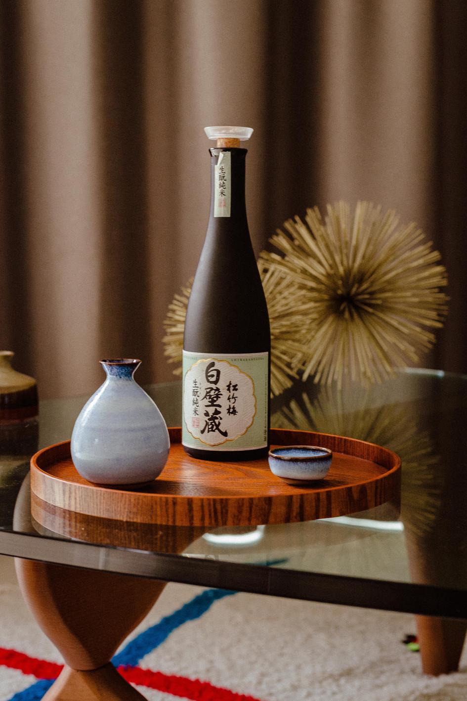 L'art de servir le saké