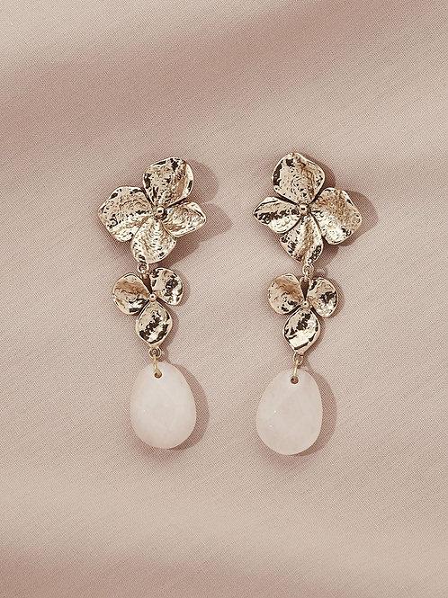 Magnolia Drop Earrings