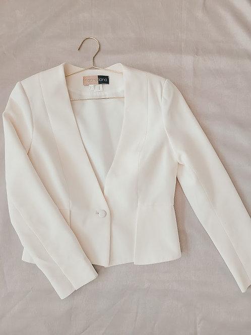 Structured Silk Blazer