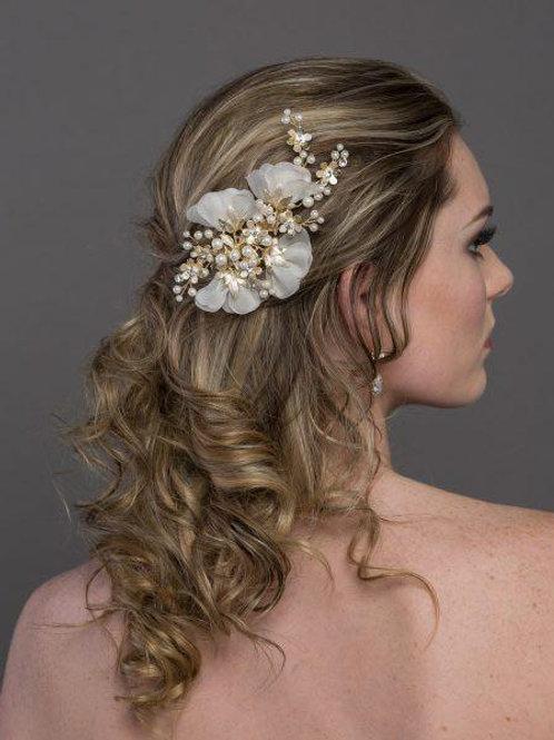 Floral Hair Clip