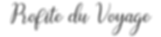 Logo de Profite du Voyage