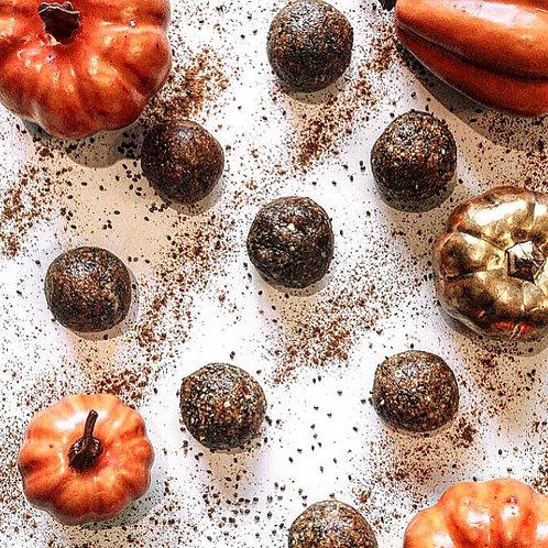 Pumpkin Spiced Protein Chia Balls