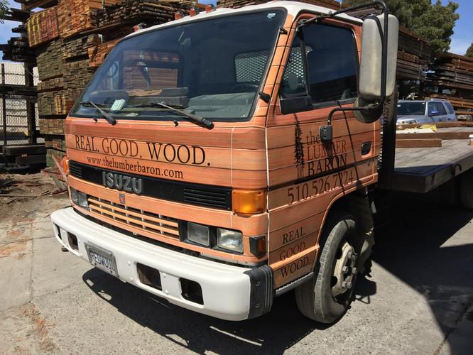 Lumber Timber Vehicle Wrap