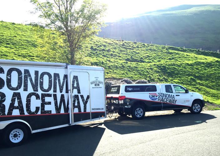 Sonoma Raceway Trailer