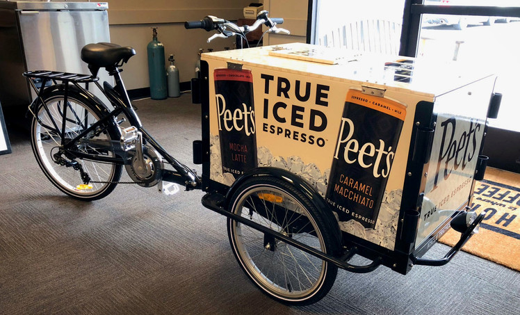 Peets Coffee Bike Wrap