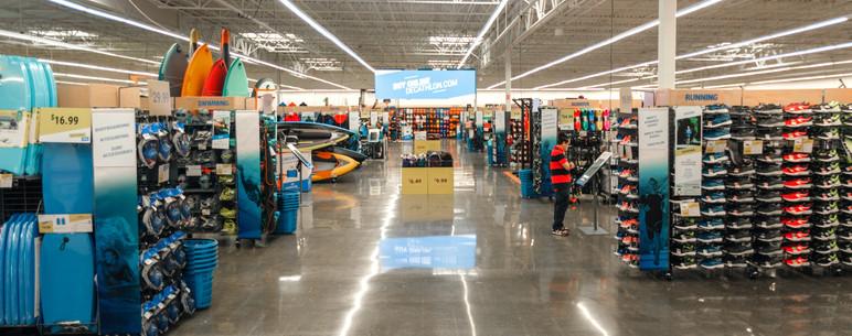 Decathalon Retail Interior