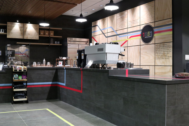1951 Coffee Retail Interiors