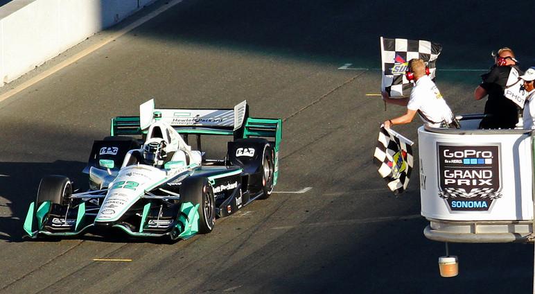 Sonoma Raceway Event Signage