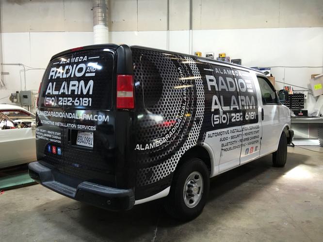 Alameda Radio Alarm Vehicle Wraps