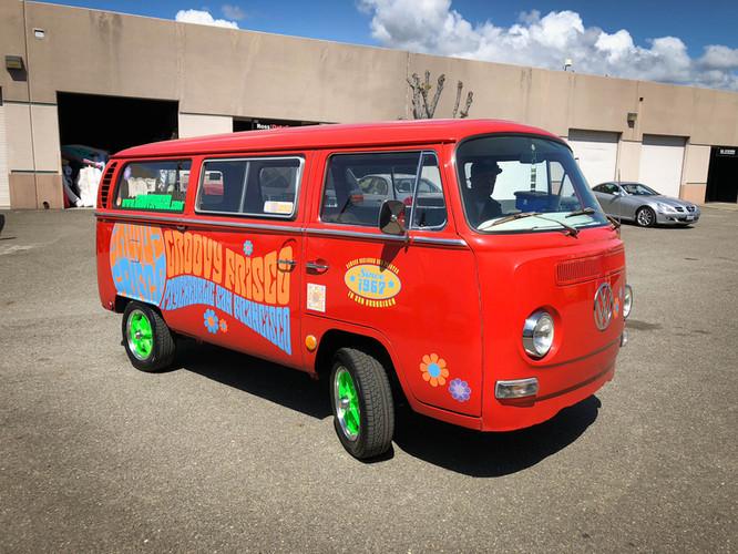 Groovy Frisco Vehicle Wraps