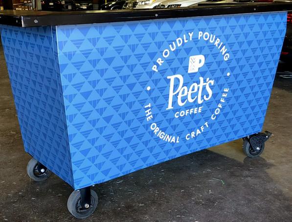Peets Coffee Stand Wrap