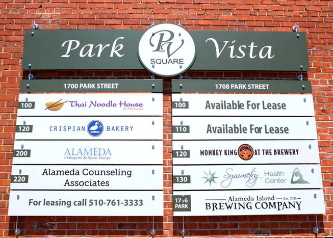 Park Vista Signage