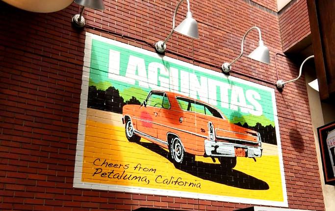 Lagunitas Wall Graphics 2