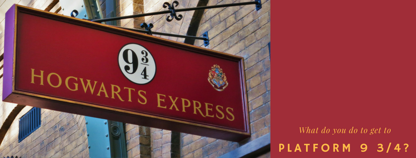Platform 9 3/4. Photo credit: canva.com