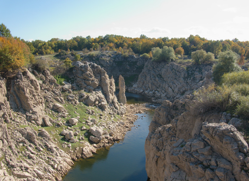 Lika River Canyon