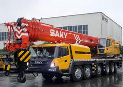 Guindastes Sany de 25 a 220 tonelada