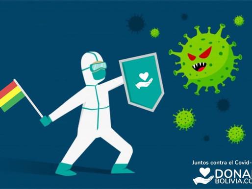 «Donar Bolivia» una campaña para ayudar a los más afectados por la pandemia