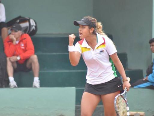 Una tenista boliviana lidera el ranking mundial de la ITF.